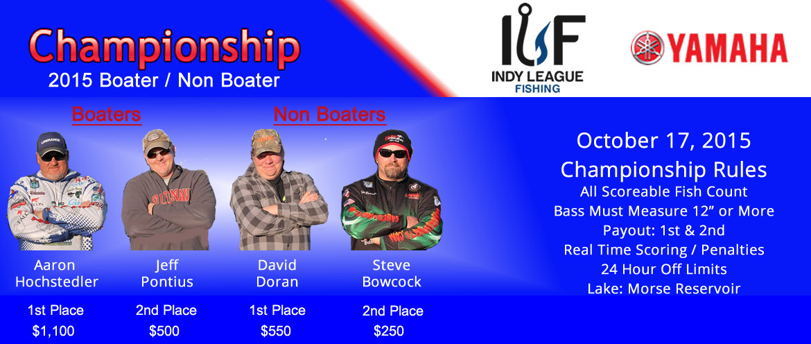 ILF Anglers 2015 Draw Tournament
